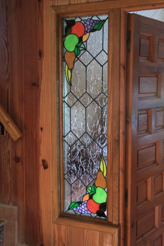 Vidrios para puertas interiores fondo mate y vidrio - Pintar cristales de puertas ...